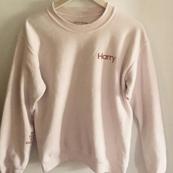 612c8de5f6 Harry Styles Tops - harry styles tpwk pink crewneck sweater